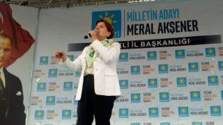 """Meral Akşener, """"Kocaeli'ye hiç bir yatırım yapılmadı"""""""