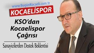 KSO'dan Kocaelispor'a Destek Çağrısı